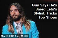 Guy Says He's Johnny Depp's Stylist, Tricks Top Shops