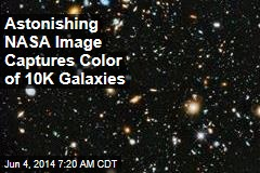 Amazing New Image Captures Color of 10K Galaxies