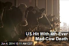 US Hit With 4th-Ever Mad-Cow Death