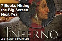 7 Books Hitting the Big Screen Next Year