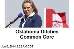 Oklahoma Ditches Common Core Education Standards