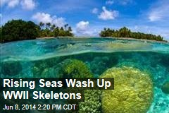 Rising Seas Wash Up WWII Skeletons