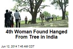 4th Woman Found Hanged From Tree in India
