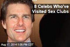 8 Celebs Who've Visited Sex Clubs
