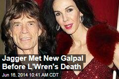 Jagger Met New Galpal Before L'Wren's Death