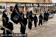 Can ISIS Be Stopped?