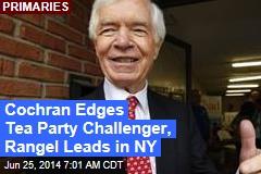 Cochran Edges Tea Party Challenger