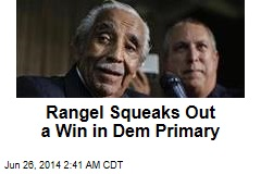 Rangel Squeaks to Win in Dem Primary