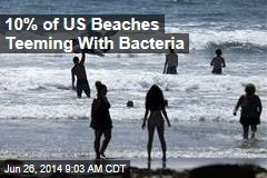 10% of US Beaches Teeming With Bacteria