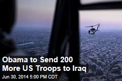 Obama to Send 200 More US Troops to Iraq