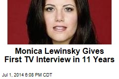 Monica Lewinsky Gives First TV Interview in 11 Years