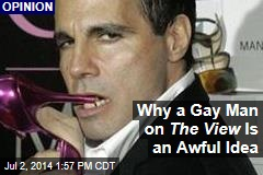 Why a Gay Man on The View Is an Awful Idea