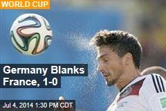 Germany Blanks France, 1-0