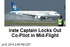 Miffed Captain Locks Out Co-Pilot in Mid-Flight