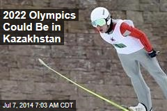 2022 Olympics Could Be in Kazakhstan