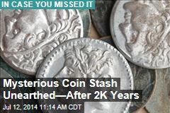 Mysterious Coin Stash Unearthed— After 2K Years
