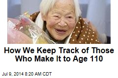 How We Keep Track of Those Who Make It to Age 110