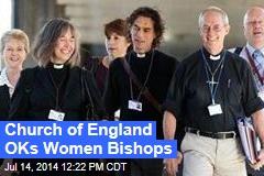 Church of England OKs Women Bishops