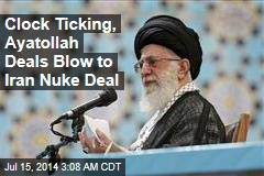 Iran Nuke Deal May Be Doomed