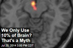 We Use Just 10% of Our Brain? Nah, Sorry