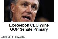 Ex-Reebok CEO Wins GOP Senate Primary