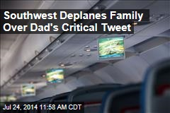 Southwest Deplanes Family Over Dad's Critical Tweet