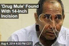 Report: Drug Mule Split Open to Get Drugs