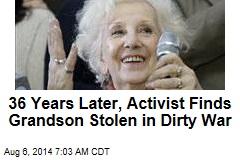 After 36 Years, Activist Finds Stolen Grandson