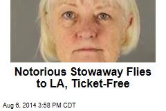 Notorious Stowaway Flies to LA, Ticket-Free