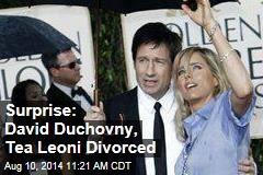 Surprise: David Duchovny, Tea Leoni Divorced