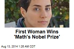 First Woman Wins 'Math's Nobel Prize'