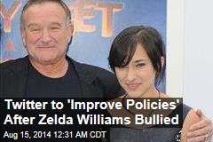 Twitter to 'Improve Policies' After Zelda Williams Bullied