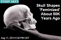 How 'Feminized' Skulls Signaled Progress