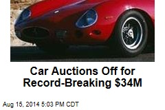 Car Auctions Off for Record-Breaking $34M