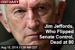 Jim Jeffords, Who Flipped Senate Control, Dead at 80