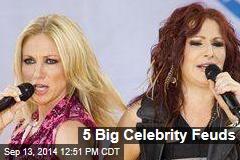 5 Big Celebrity Feuds