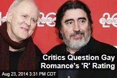 "Critics Question Gay Romance's ""R"" Rating"