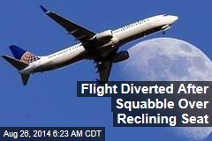 Flight Diverted After Squabble Over Reclining Seat