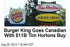 Burger King in Talks to Become Canadian