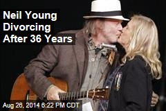 Neil Young Divorcing After 36 Years