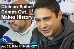 Chilean Sailor Comes Out, Makes History
