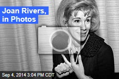 Joan Rivers, in Photos