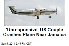 US Plane Unresponsive Over Caribbean