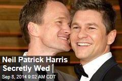 Neil Patrick Harris Secretly Wed