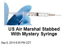 Attacker Plunges Syringe in US Air Marshal