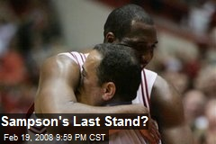 Sampson's Last Stand?