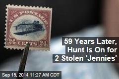 59 Years Later, Hunt Is On for 2 Stolen 'Jennies'