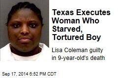 Texas Executes Woman Who Starved, Tortured Boy