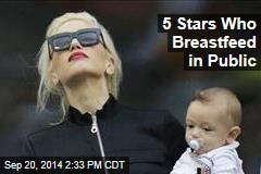 5 Stars Who Breastfeed in Public