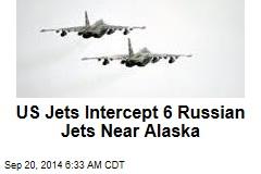 US Jets Intercept 6 Russian Jets Near Alaska